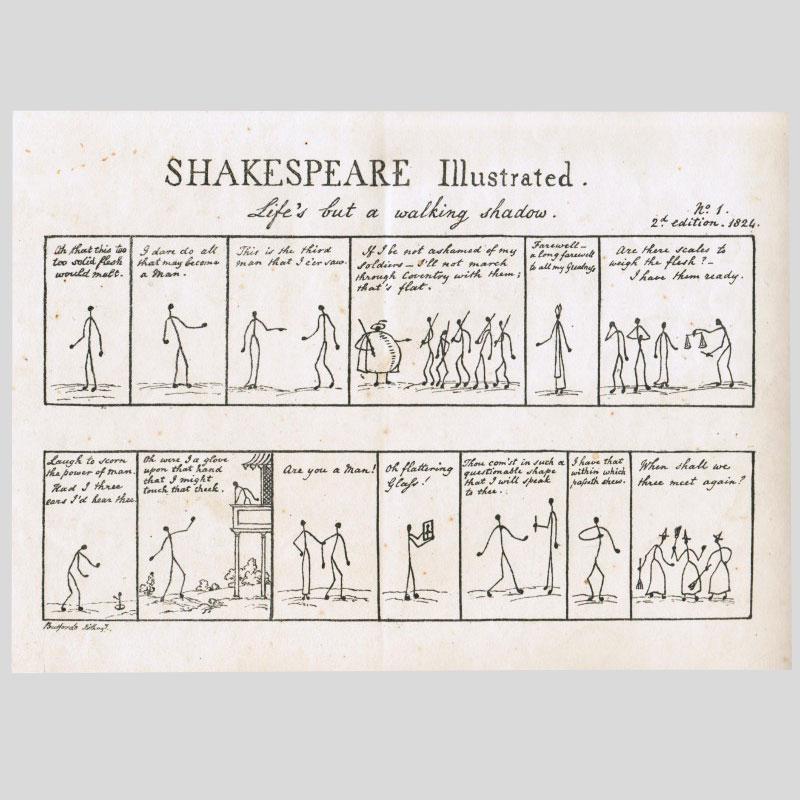 Stickmen Shakespeare