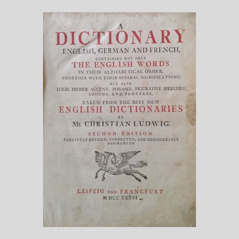 The first dictionary of American English?