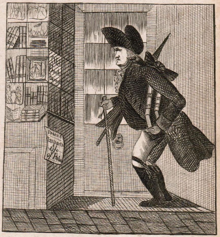 Transvestite antiquarian bookseller