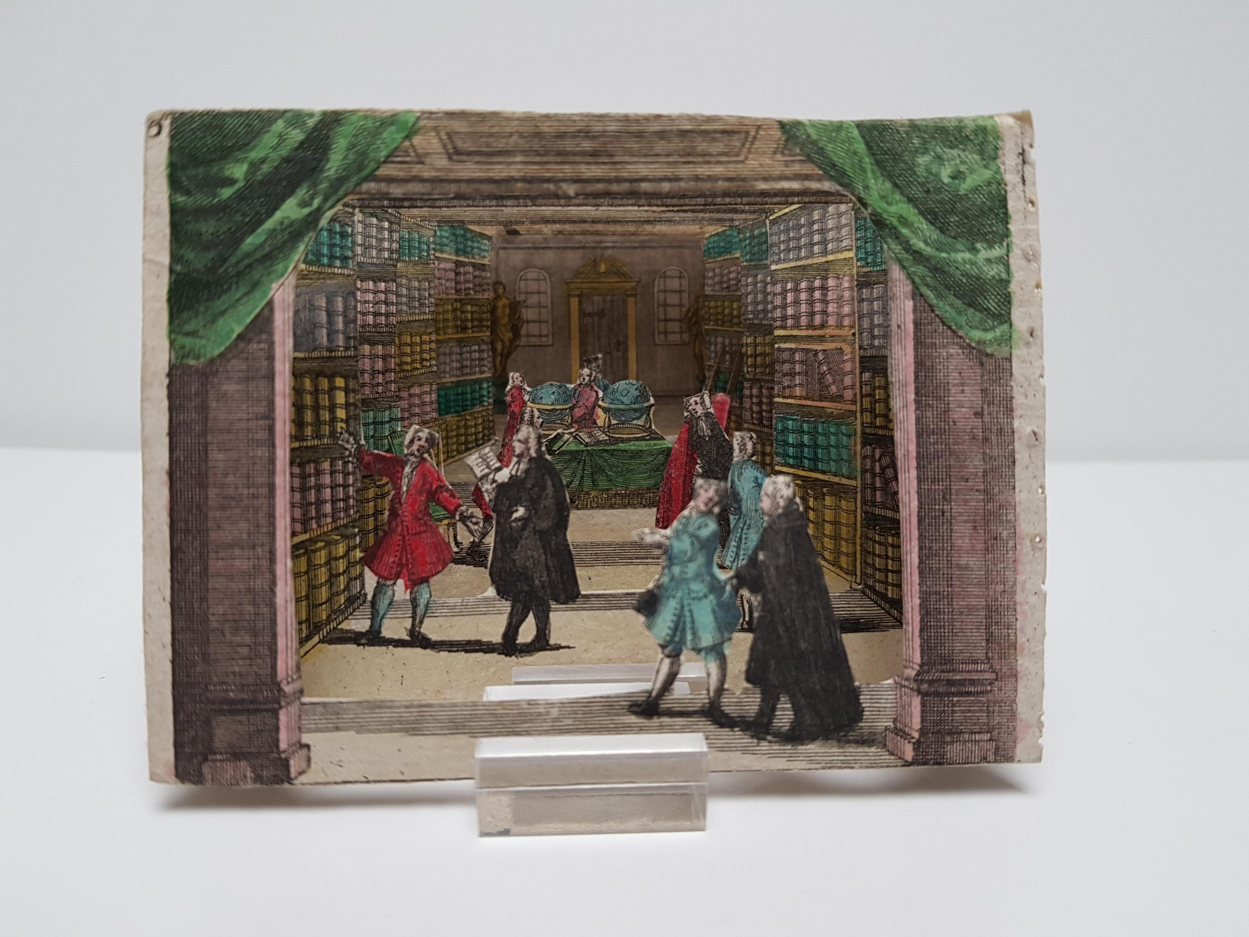 An 18th-century pocket library