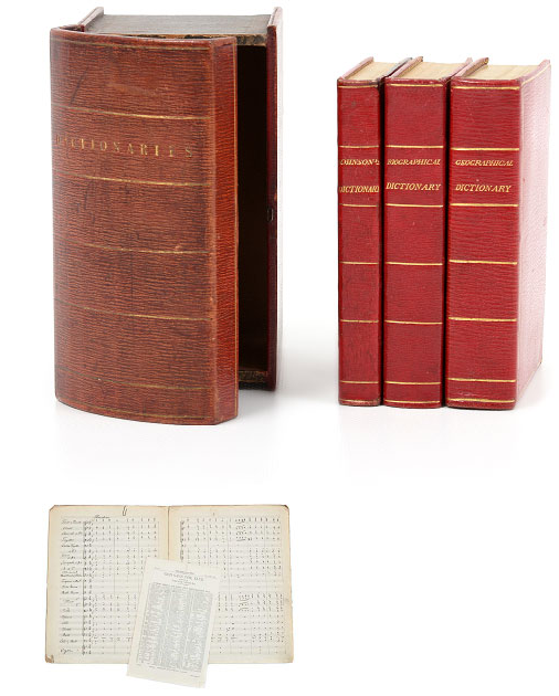 Photograph of old books