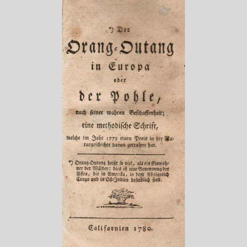 The first book published in 'California'