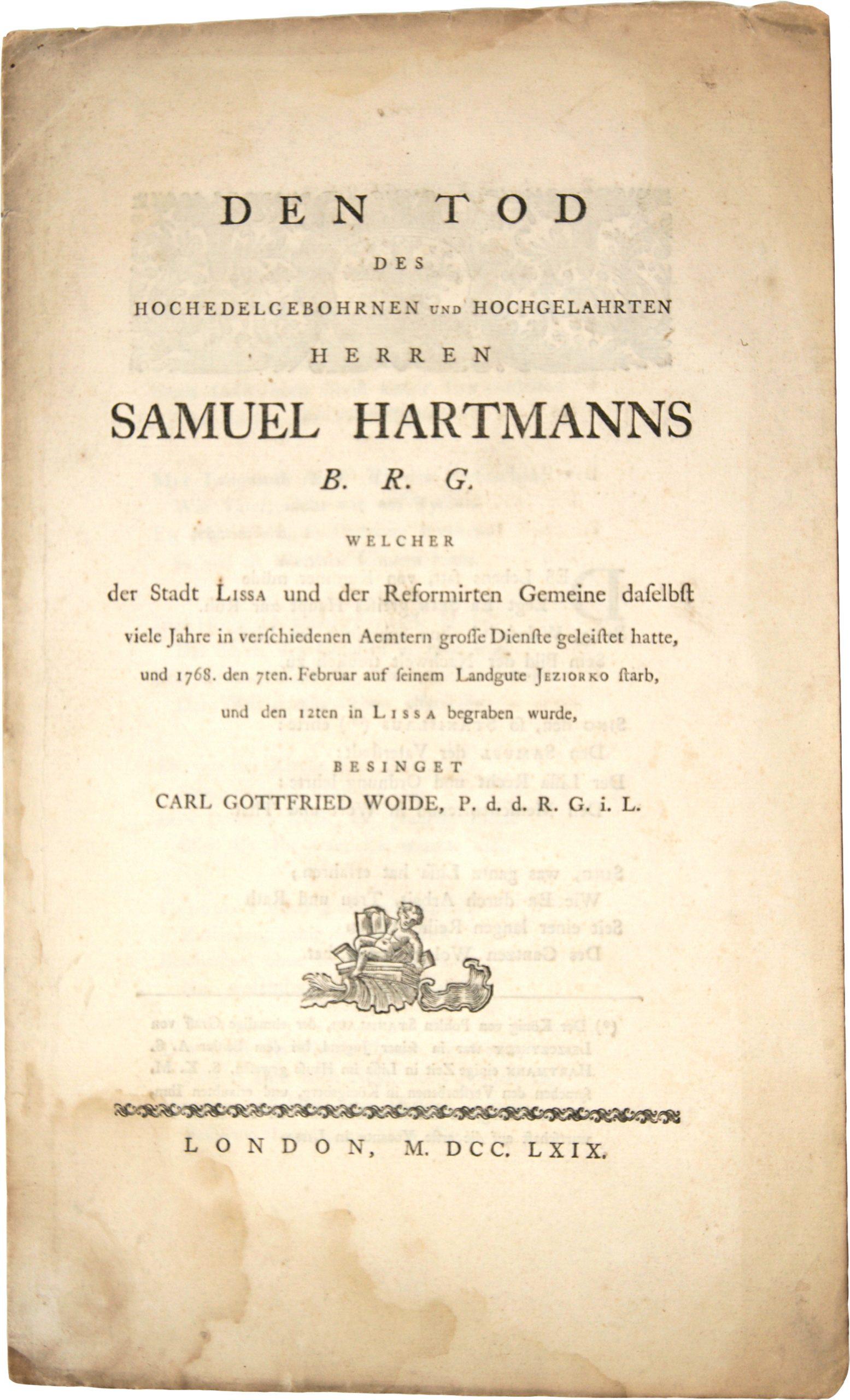 German printing in London